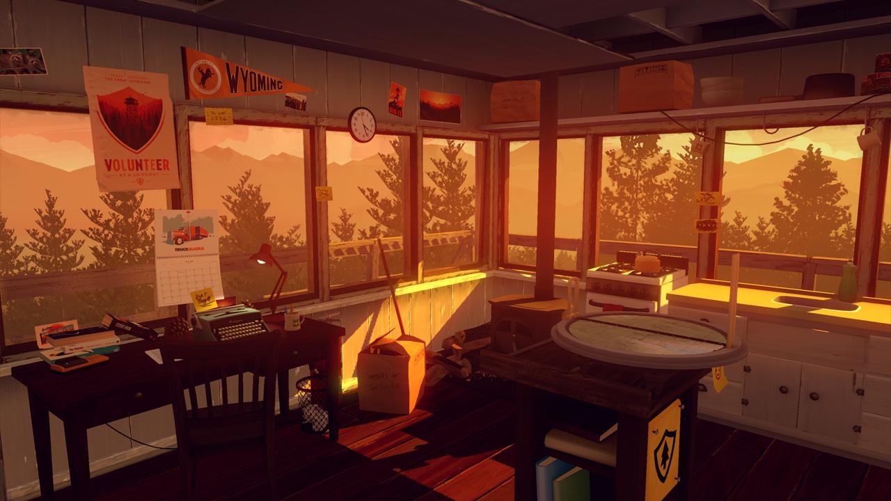 Скриншот №2 к Firewatch