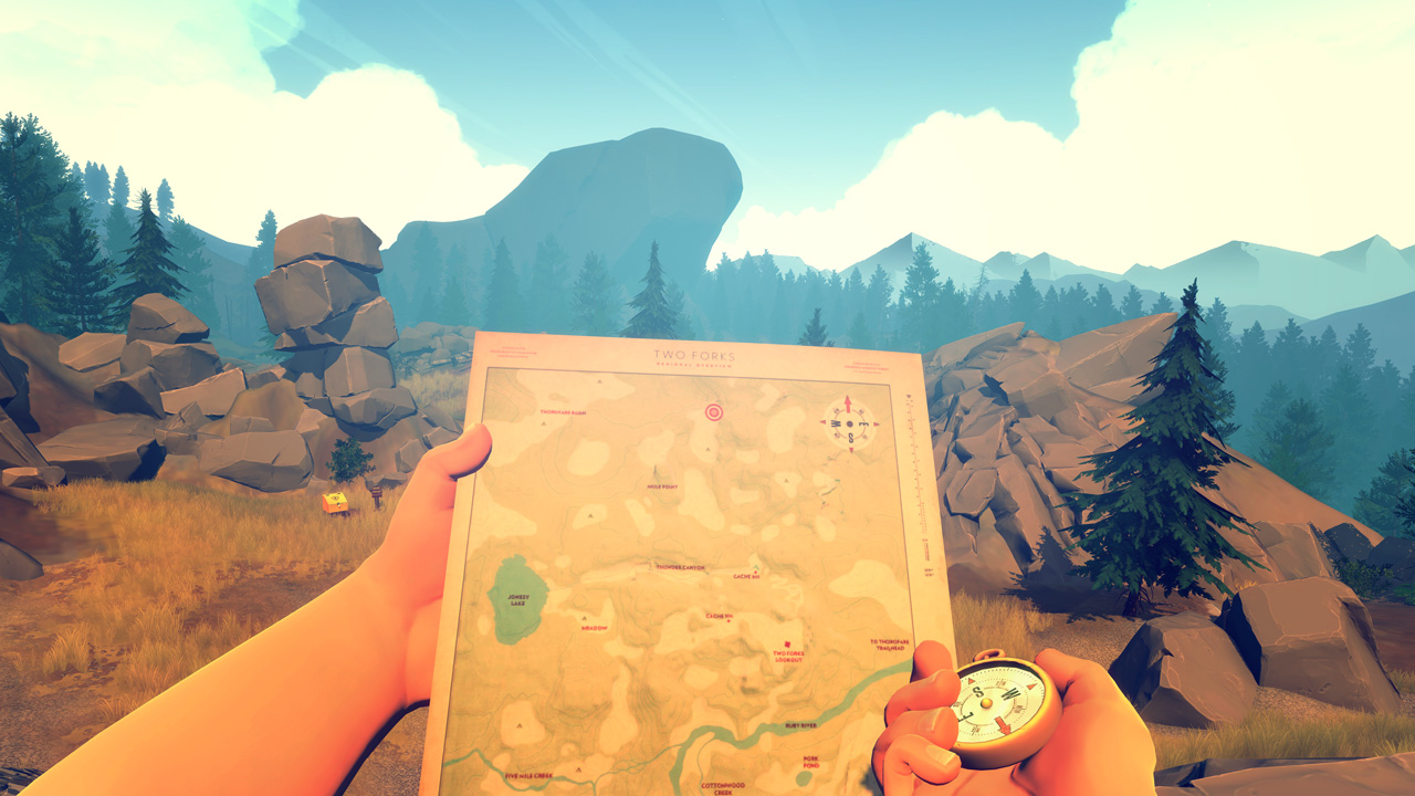 Скриншот №4 к Firewatch