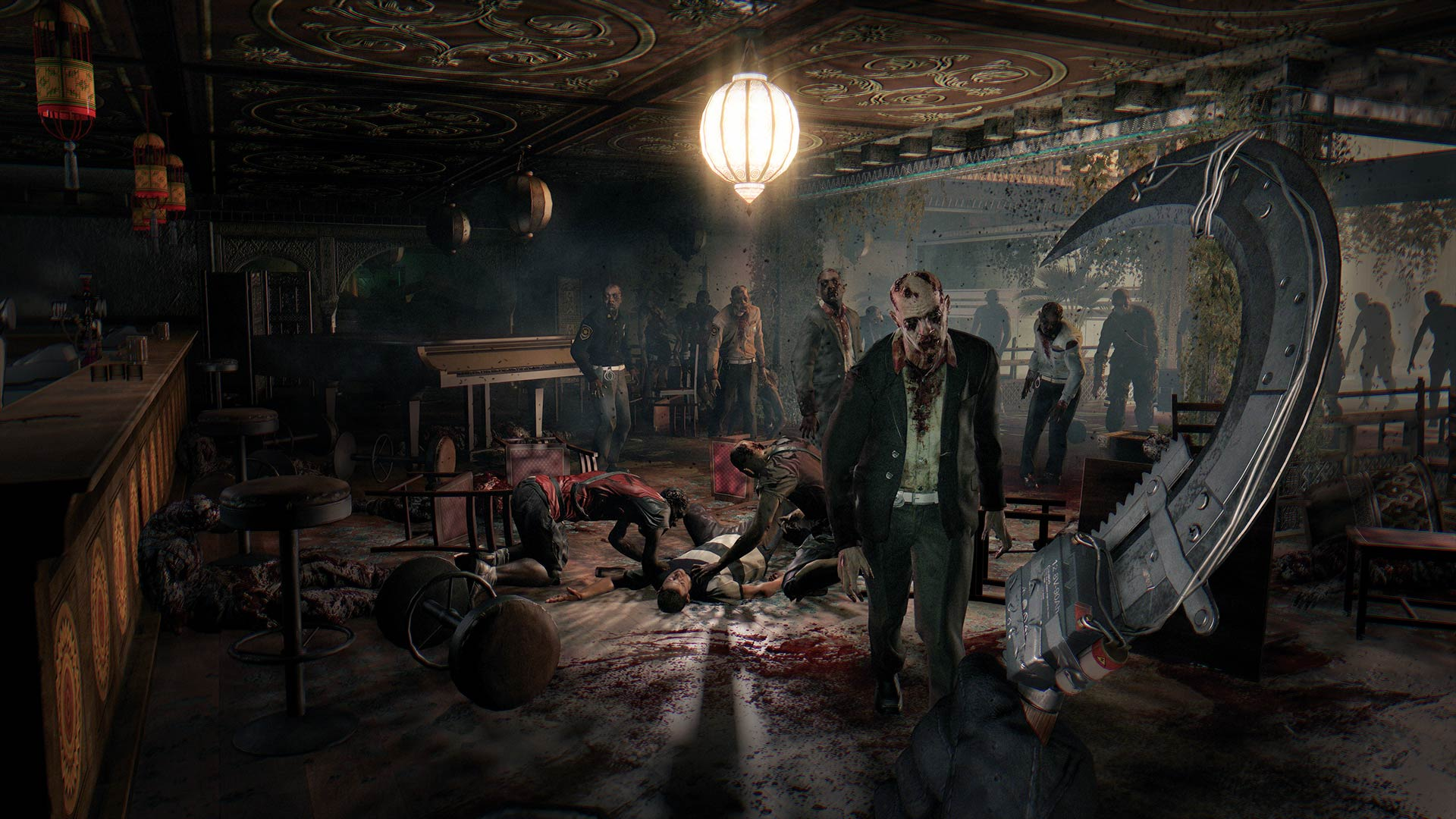 Dying Light The Following Enhanced Edition on PS4