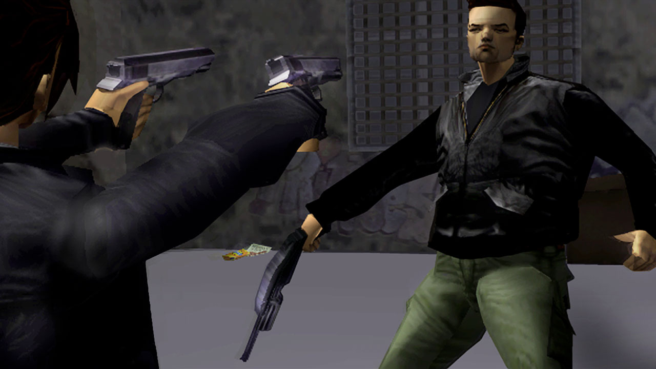 Скриншот №1 к Grand Theft Auto The Trilogy