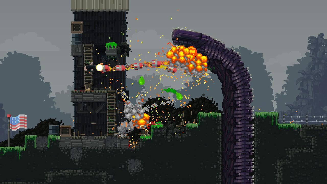Скриншот №9 к Broforce