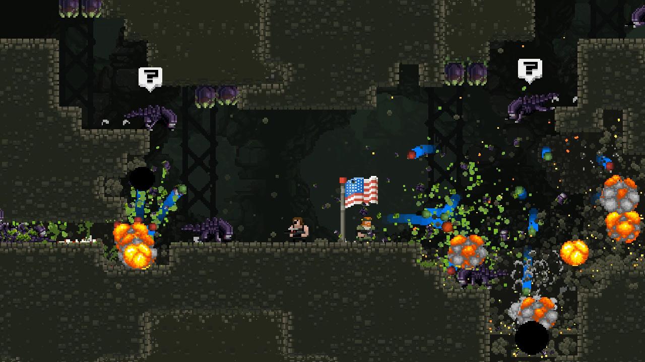 Скриншот №2 к Broforce