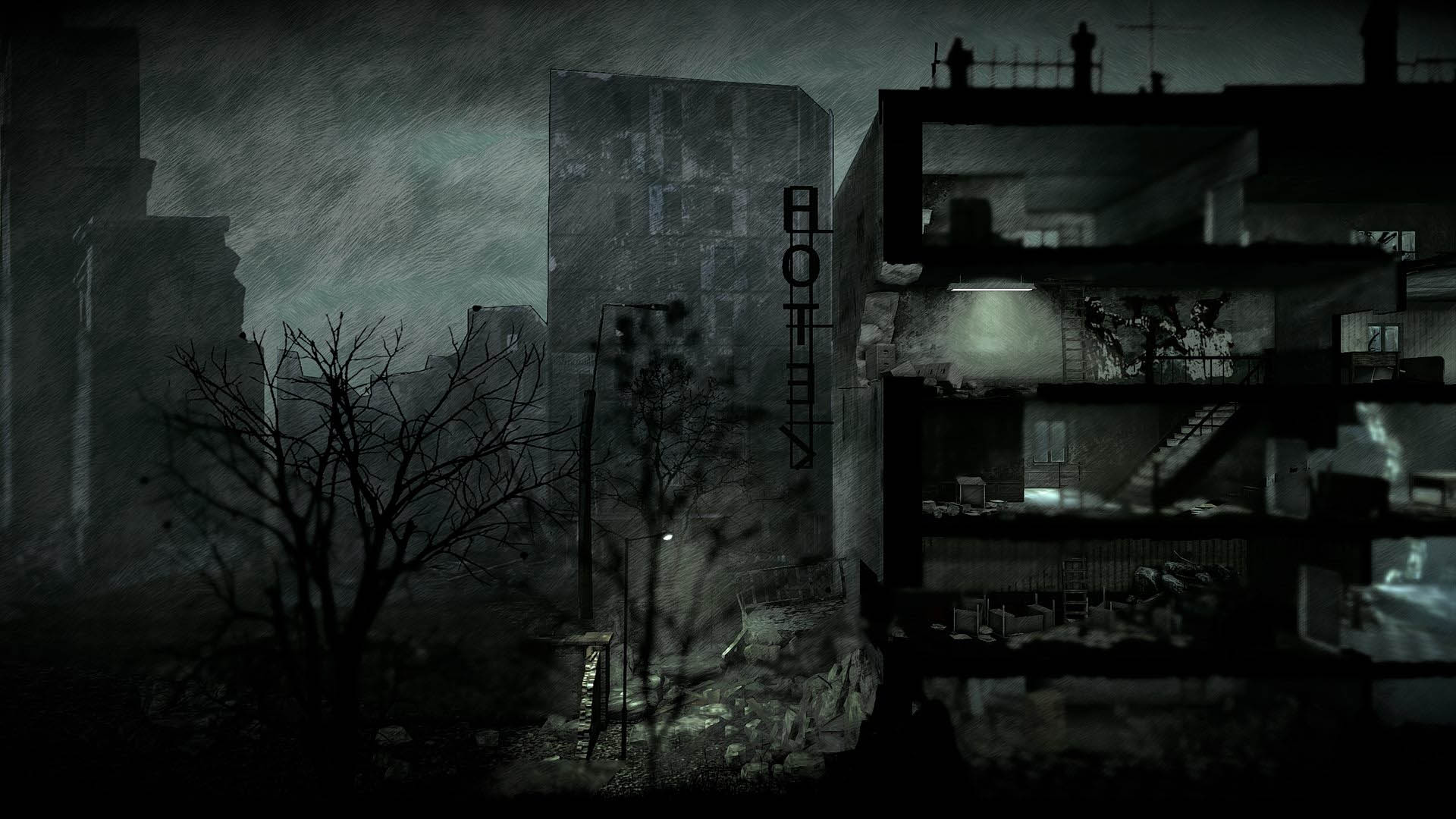 Скриншот №10 к This War of Mine The Little Ones