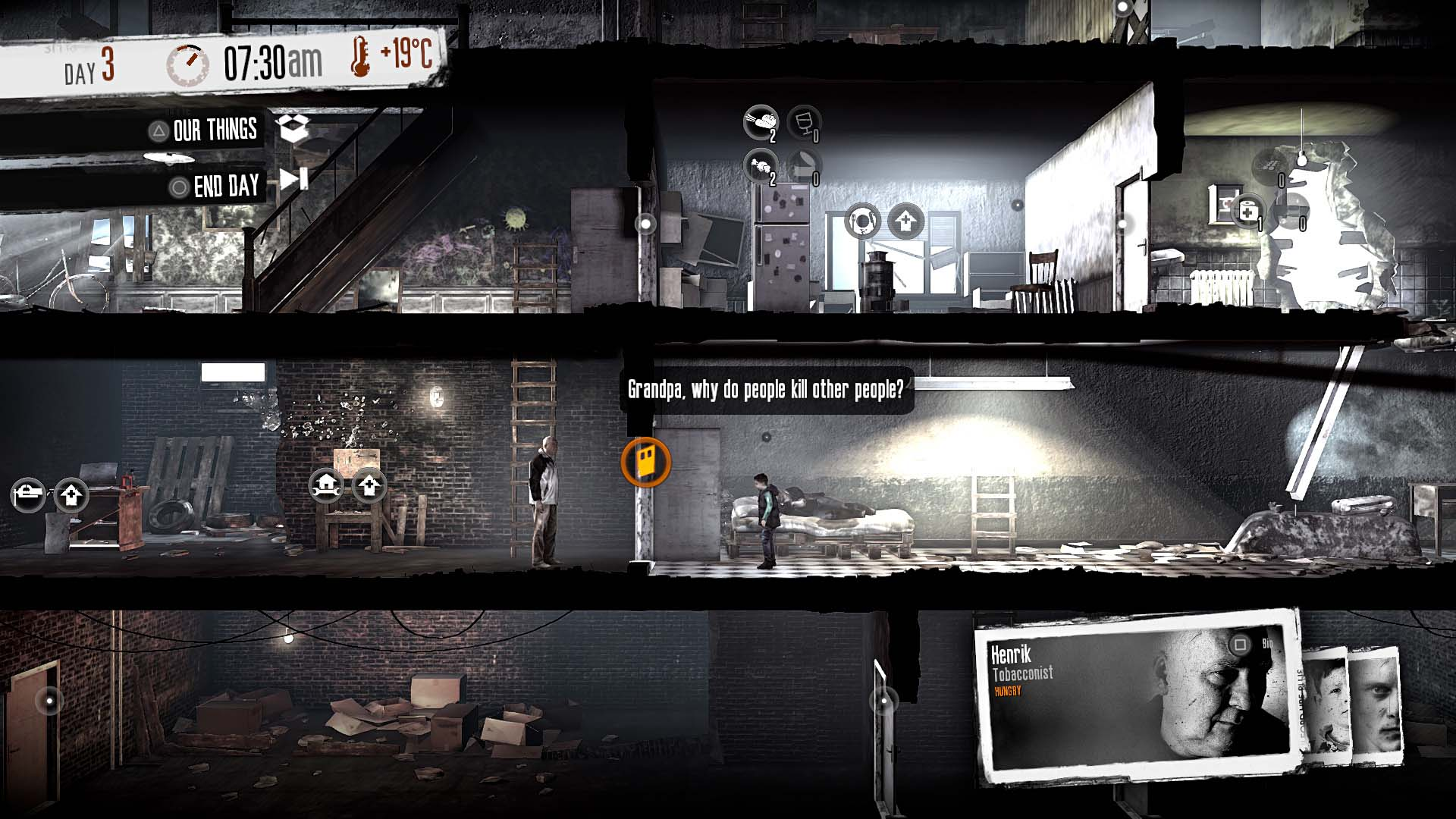 Скриншот №6 к This War of Mine The Little Ones